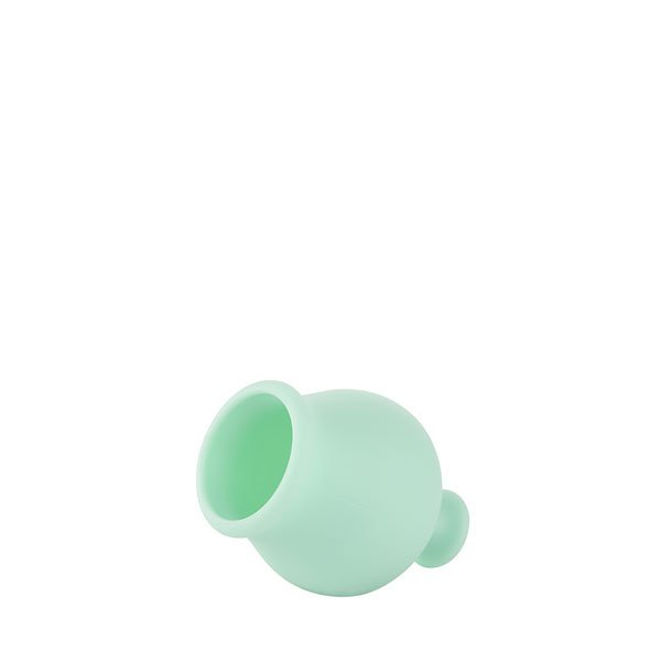 Green breast pump stopper