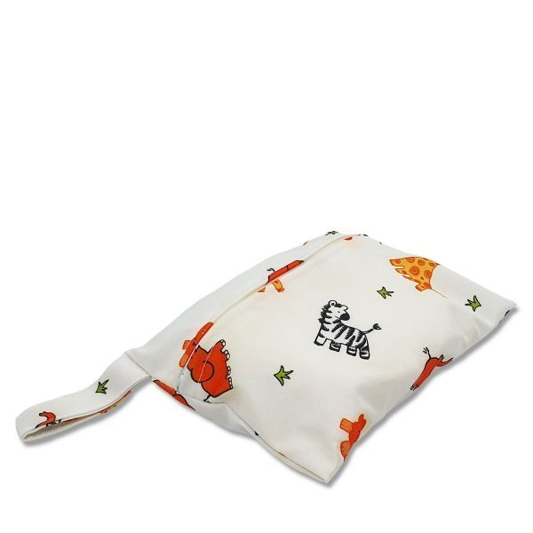 Milk Baby Storage Wet Bag - At the Zoo 3
