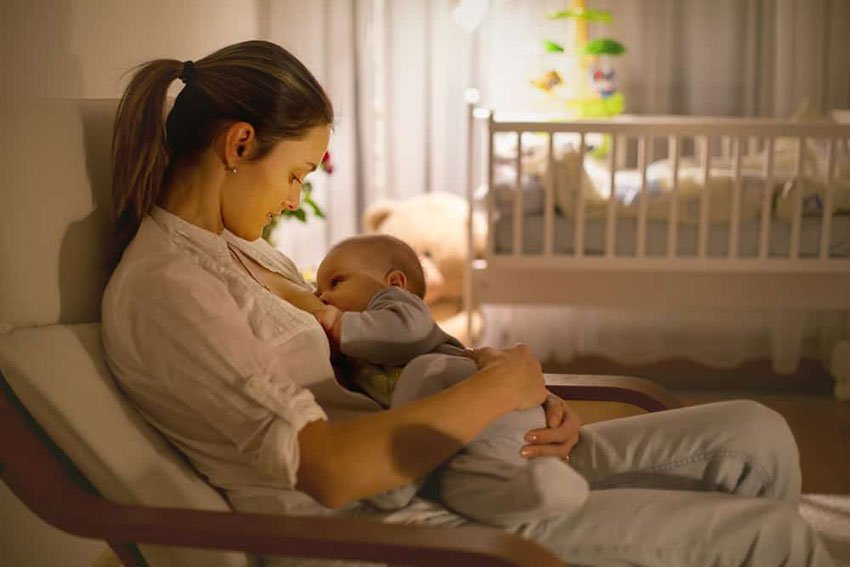 Breastfeeding area